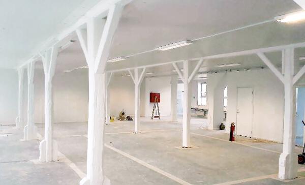 Brandmaling - Malerfirmaet Jeppesen er specialist i brandsikker malerløsninger.
