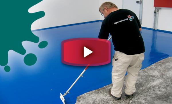 På denne side kan du se forskellige videoer, hvori malerne fra Malerfirmaet Jeppesen udfører bla. gulvmaling, erhvervsmaling, industrimaling, boligmaling og bygningsmaling