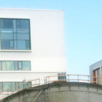 Maling af campus på Godsbanearealet i Aalborg