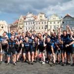 Cykelhold cykler 1.140 km til Prag: Indsamler over 100.000 kr. til børneafdelingen på Aalborg Sygehus