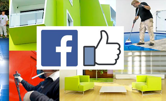 På Facebook opdaterer vi dig løbende med nye tilbud, kampagner, aktiviteter og andet nyt fra os - og fra vores butik, der sælger maling til private til lagerpriser.