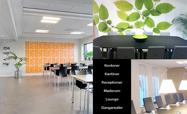 Vi samarbejder med dygtige indretningsarkitekter