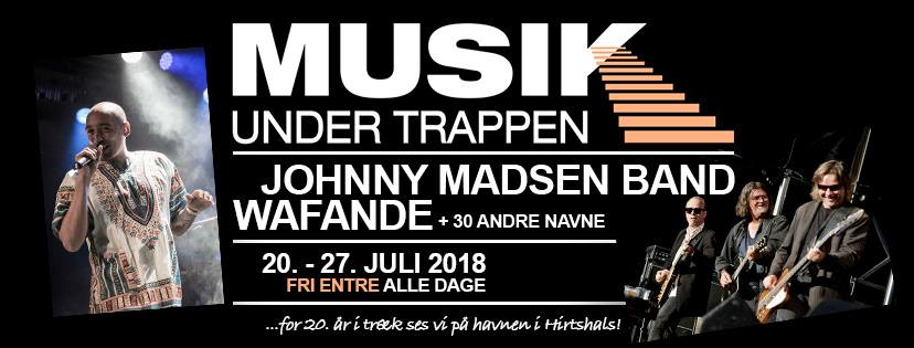 Jeppesen sponserer: Musik Under Trappen 2018 i Hirtshals