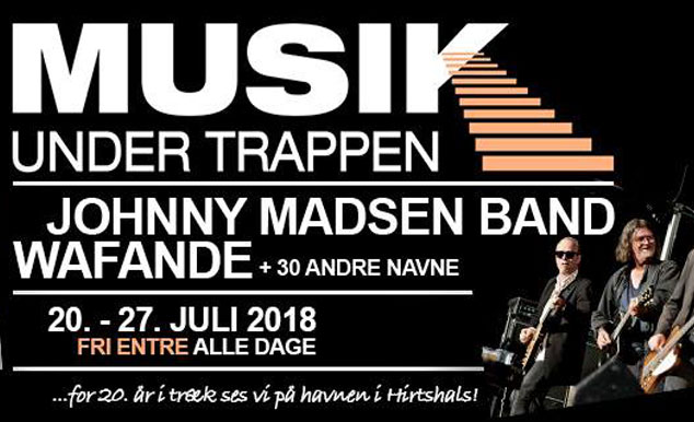 Jeppesen sponserer Musik Under Trappen 2018 i Hirtshals