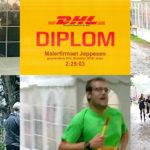 Jeppesen-malere i højt tempo ved DHL Stafetten 2018