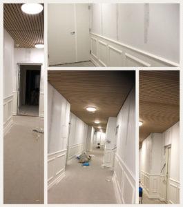 Malerfirmaet Jeppesen - boligbyggeri og boligmaling - DLG-tårnet, Østre Havn i Aalborg - energirenovering, specialmaling, sundt indeklima
