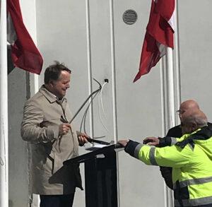 rejsegilde CALUM (Jakob Axel Nielsen) nybyggeriet Køge Kyst / Malerfirmaet Jeppesen