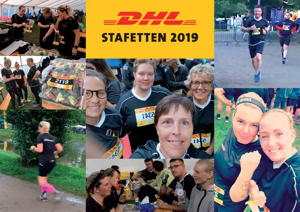 Jeppesen-malere i højt tempo ved DHL Stafetten 2019